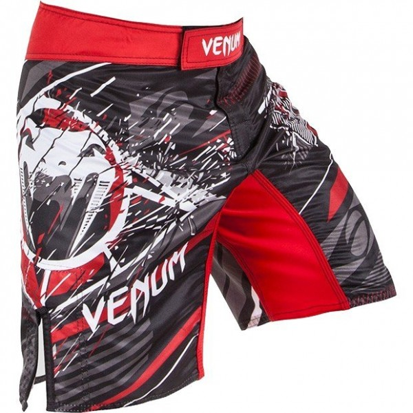 Шорты Venum All Flags Fightshorts - Black/Red